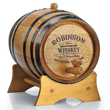 Personalized Mini Oak Whiskey Barrel Wine Cellar Whiskey Barrels