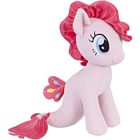 My Little Pony the Movie Pinkie Pie Sea-Pony Cuddly Plush, Multicolor