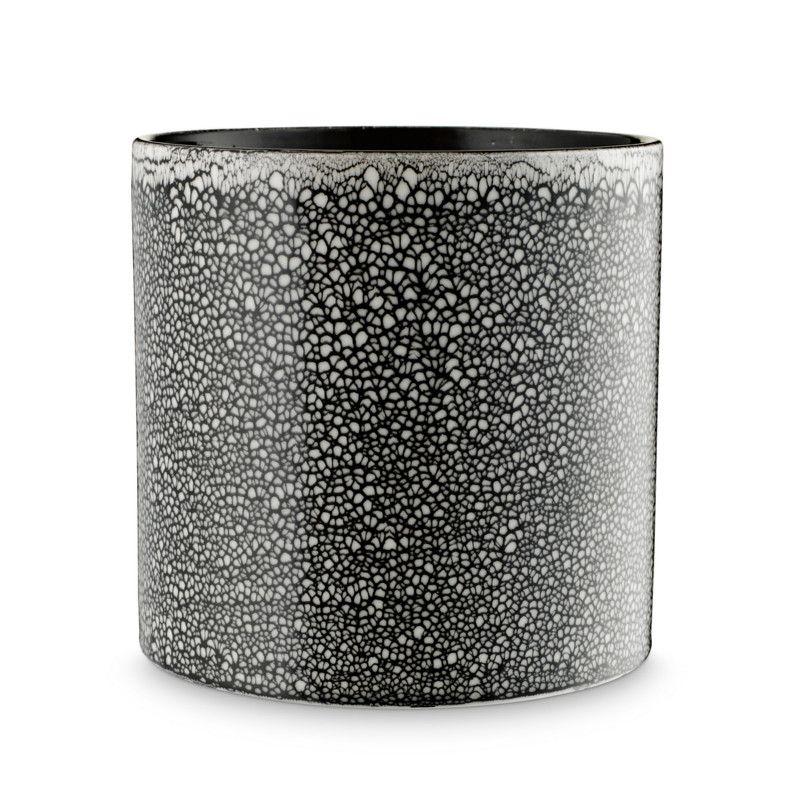 keramik urtepotteskjuler H. Skjalm P. Urtepotteskjuler Keramik Siena Sort Hvid | Home  keramik urtepotteskjuler