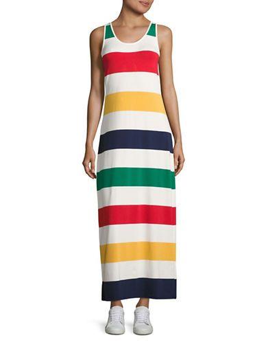 dfd9de4613f Heritage Stripe Maxi Dress
