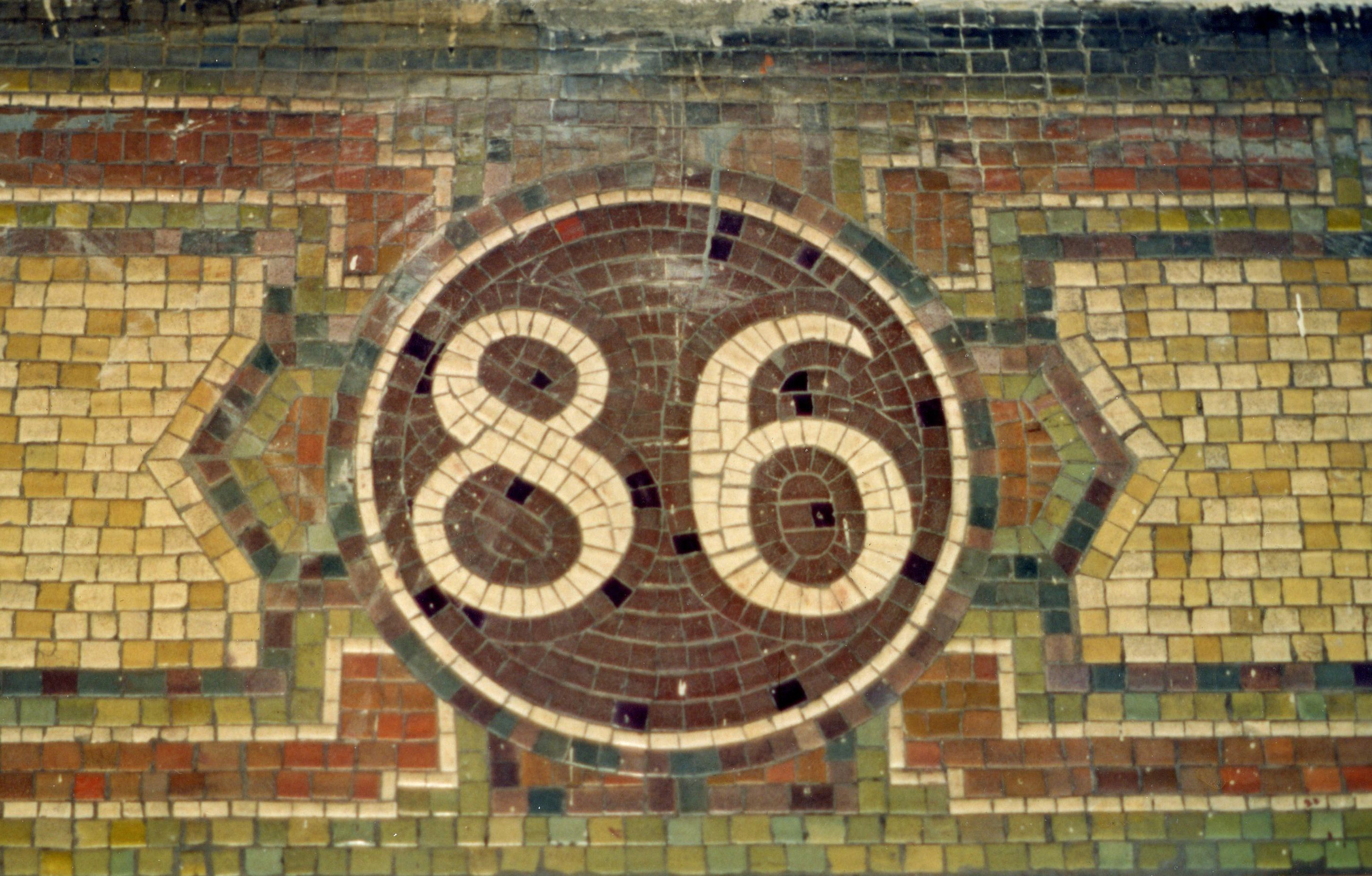 86th Street Station New York subway mosaic Manhattan