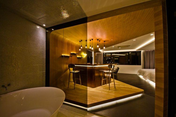 Hotelzimmer Design Mit Indirekter Beleuchtung U2013 Luxus Pur! #beleuchtung # Design #hotelzimmer #