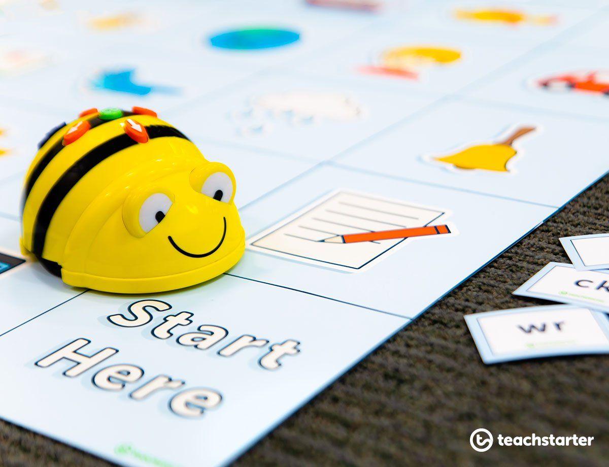 Printable Bee Bot Mats Bee Bot Mats Teaching Resources Beebot