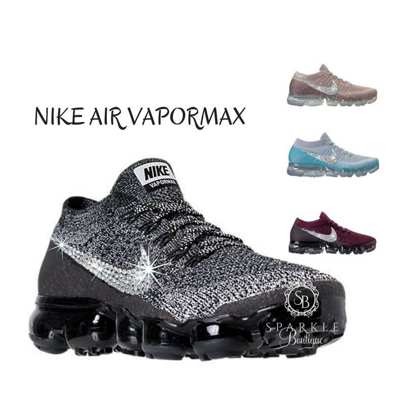 0d93dd3f03b8 Swarovski Nike Air VaporMax - Bedazzled - Running Shoes - ALL Sizes and  Colors - Custom by SparkleBoutique2U on Etsy