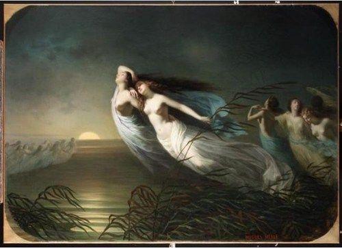 La légende des Willis - Hugues Merle - c. 1847