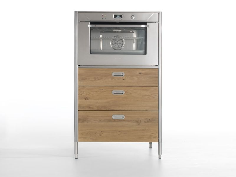 KITCHEN FREESTANDING UNIT WITH OVEN LIBERI IN CUCINA COLLECTION BY ...