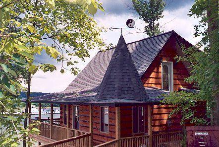 Bon Colucci Log Cabin Rentals On The Ohio River
