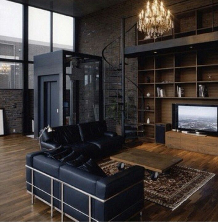 Manly Decorating Create Your Dream Man Cave Loft Living House