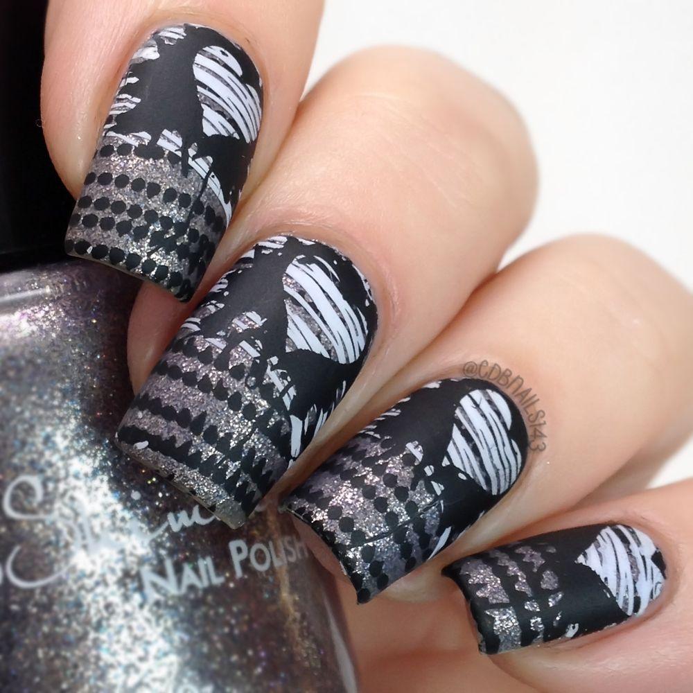 Lina Nail Art Supplies - Plate \'Make Your Your Mark 01\'   My Nail ...