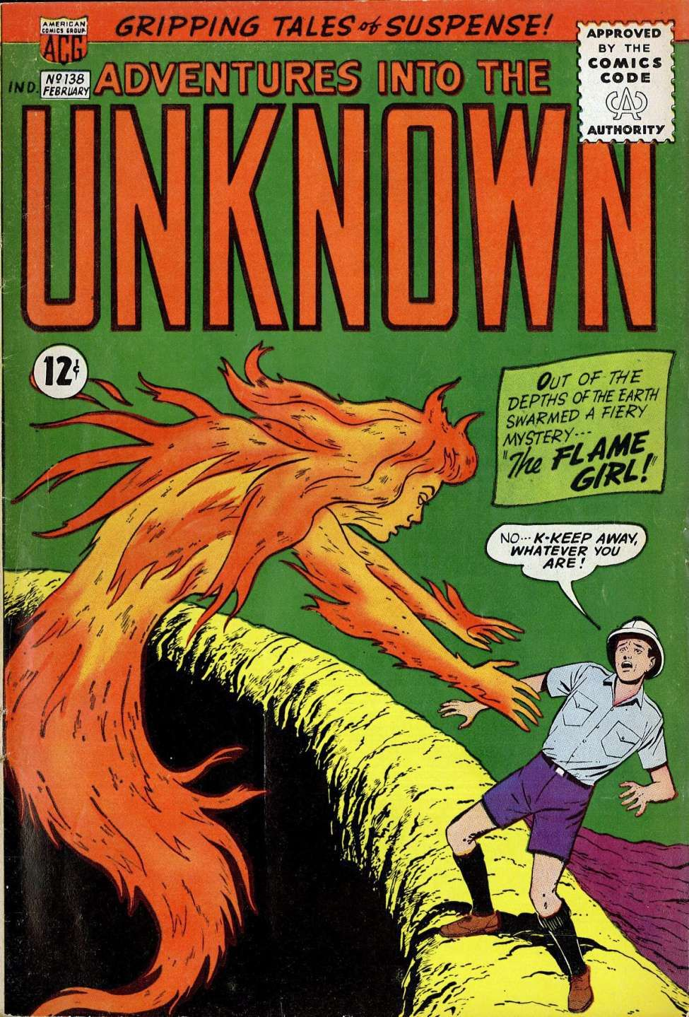 Adventures into the unknown 138 comics graphic novel