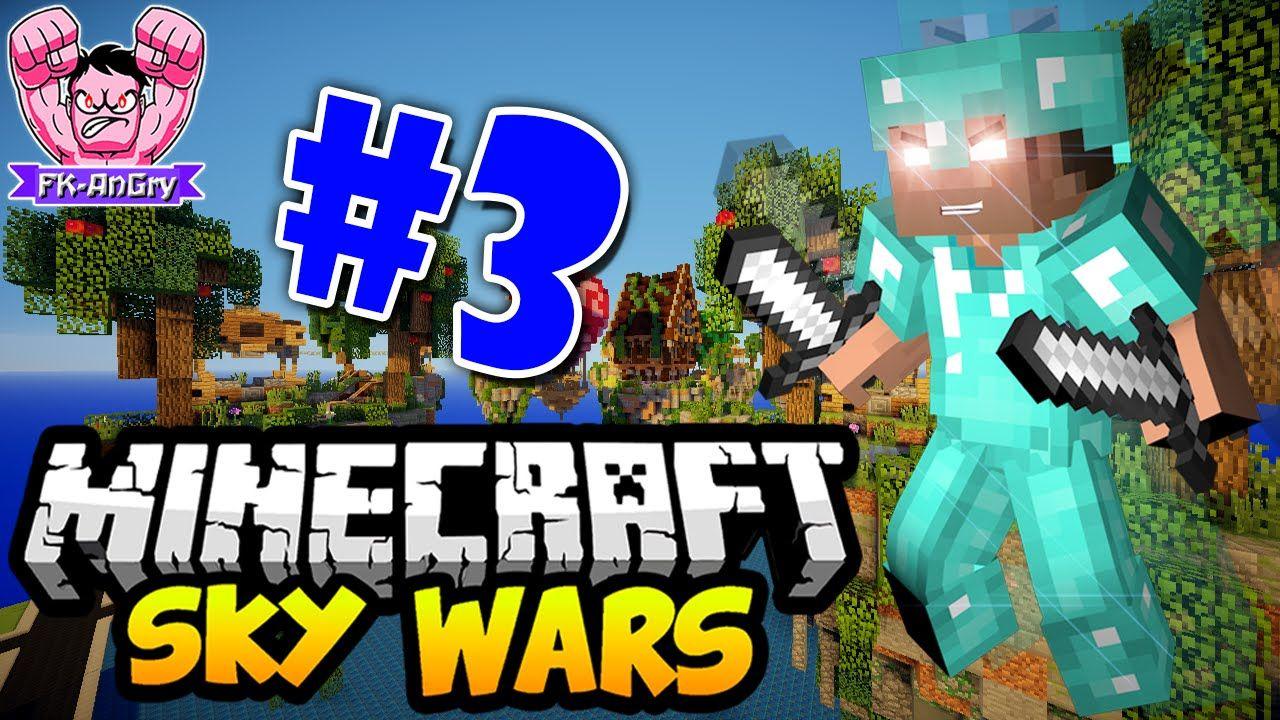 Minecraft Skywars The War PVP WFKAnGry Games Pinterest - Minecraft skywars spiele