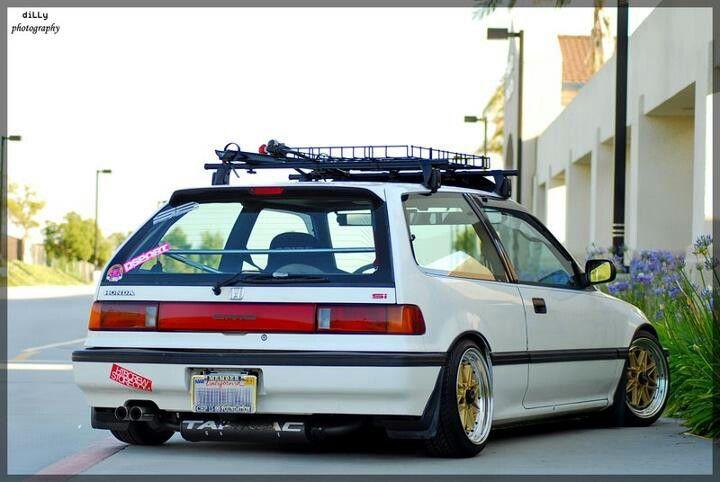 Love This Rack Honda Civic Hatchback Jdm Honda Honda Civic