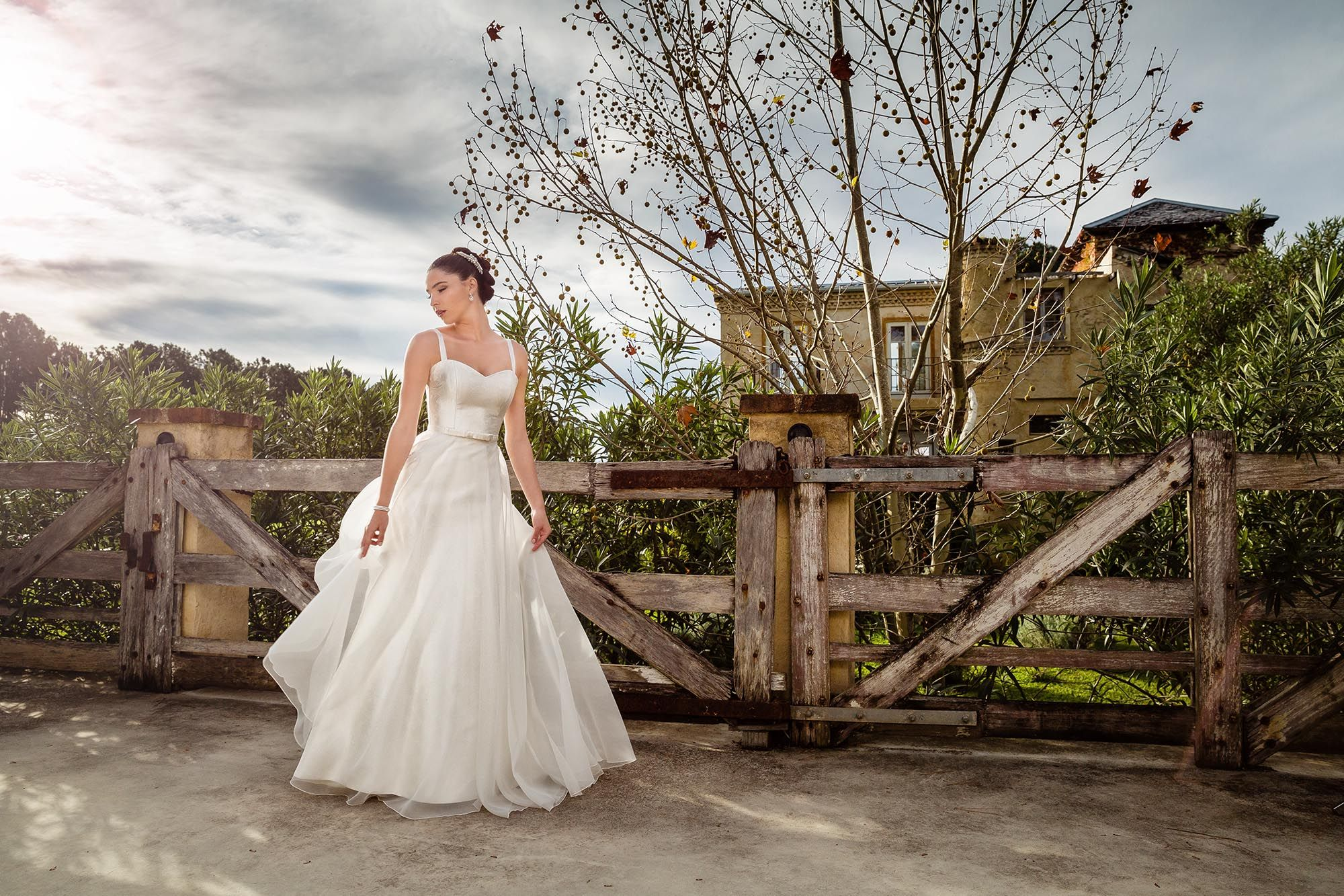 The 'Maggie' gown from Bertossi Brides at Paddington Weddings. P perfect example of less is more in bridal design!! www.paddingtonweddings.com.au