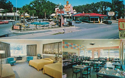 Palms Motor Inn Restaurant Pancake House St Augustine Florida St Augustine Hotel The Pancake House
