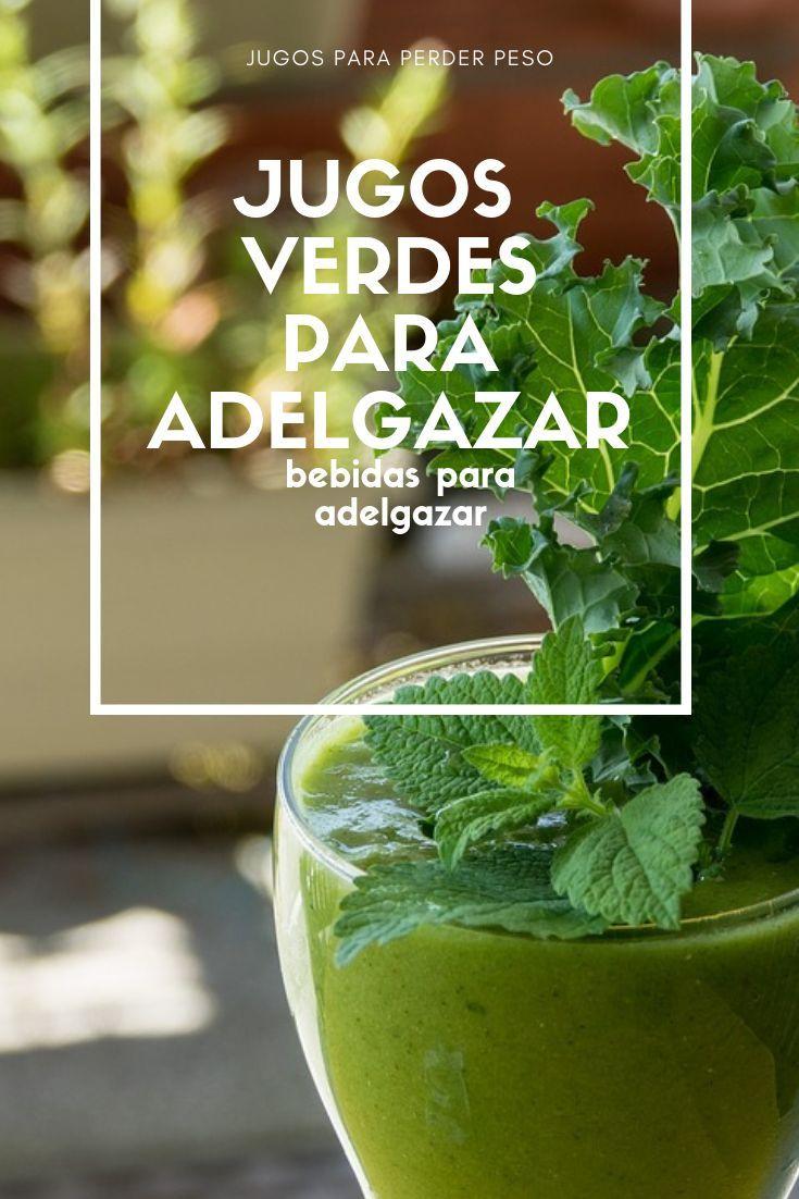 Los mejores jugos verdes para perder peso
