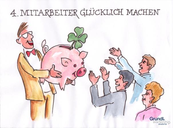 """Sehen Sie sich als Führungskraft verantwortlich für das Glück Ihrer Mitarbeiter? Hier geht es zu Teil 4 der Blogreihe """"10 Mythen der Führung"""" auf """"Führen & Wirken"""": http://www.fuehren-und-wirken.de/fuehrungskraefte-muessen-mitarbeiter-gluecklich-machen/"""