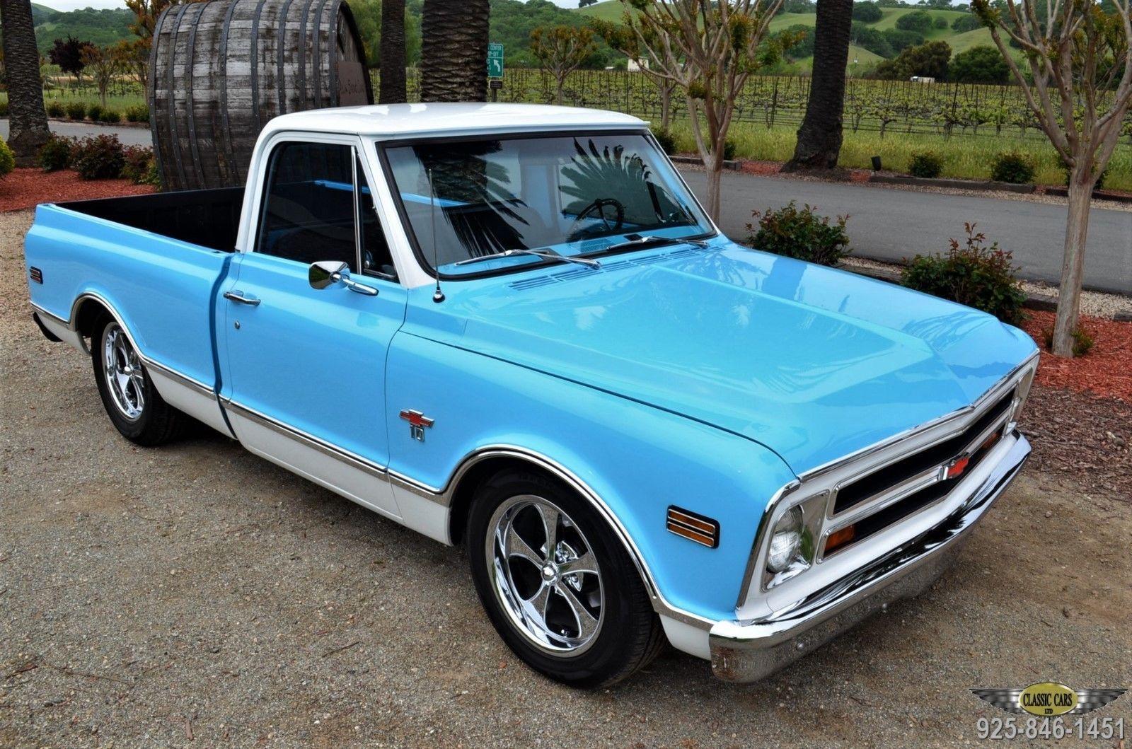 1968 Chevrolet C 10 Restored Ca Short Bed Motor Car 1961 Chevy C10