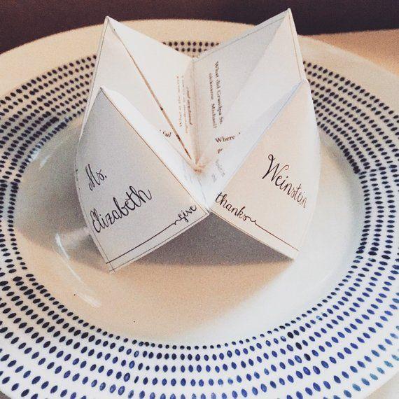 DIY Customizable Printable Thanksgiving Menu