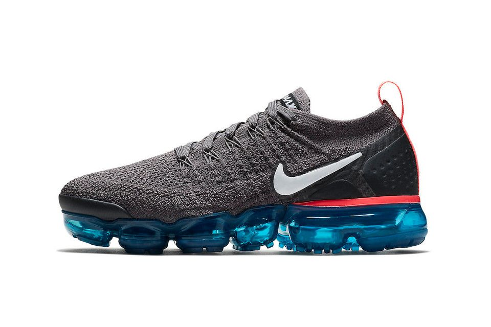 """best website 9253b 56c4f Nike Reworks the Air VaporMax 2 Flyknit In """"Thunder Grey"""""""