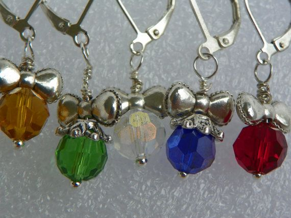 Ornament Earrings Handcrafted Christmas by CathysCreationsPlus $8.00 + 2.50 shipping