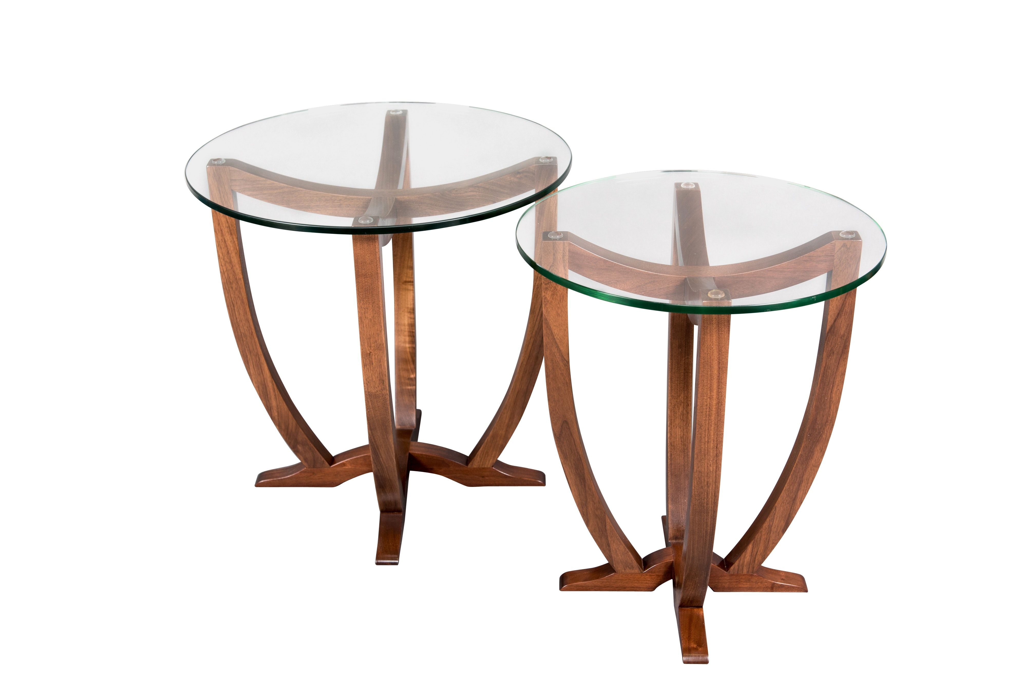 Buy Pirouette End Tables By Lorin Kinsel Furniture   Made To Order Designer  Furniture