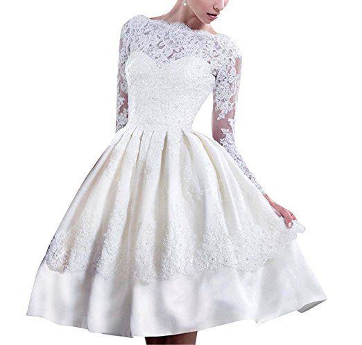 Brinny Brinny Damen Brautkleider Hochzeitskleid Cocktailkleid ...
