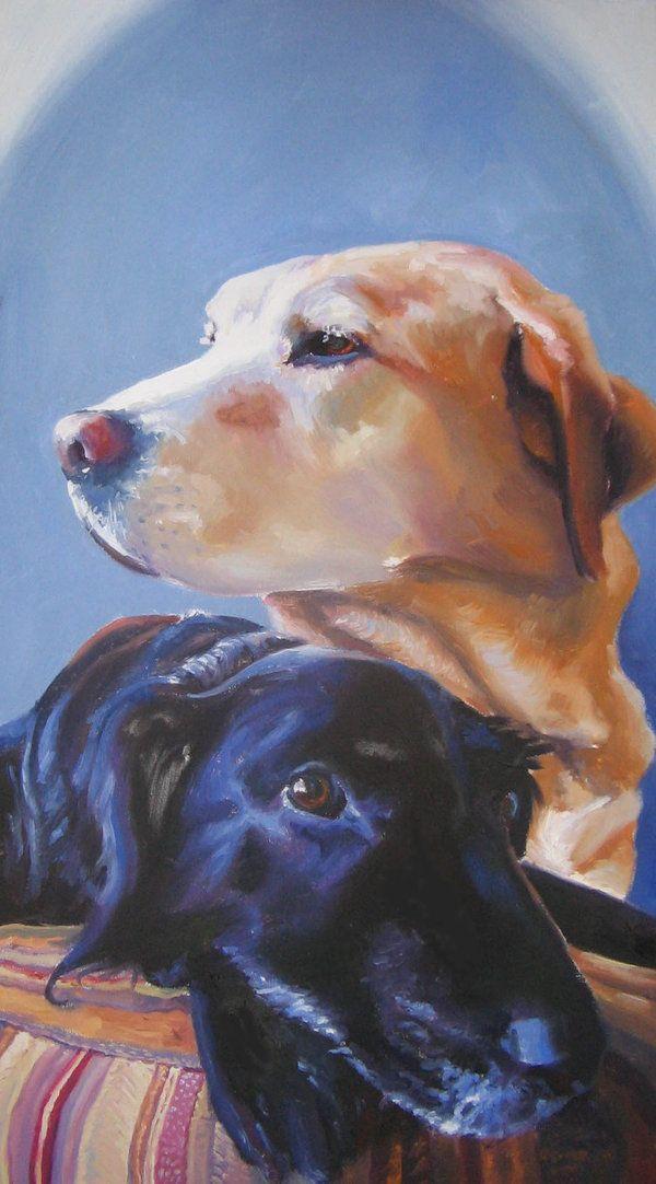 ☆ Pet Portrait.。Dexter and DeeDe ゝ。Art By y0uiip ☆