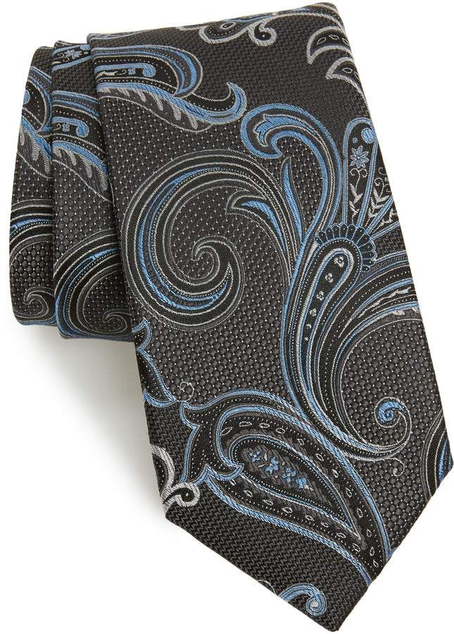 dd56ff79edbb Nordstrom Bryce Paisley Silk X-Long Tie in 2019 | Products | Long ...