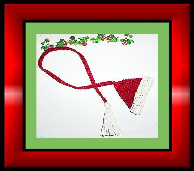 Quickie Bookmark for Christmas free crochet pattern | Crochet Thread ...