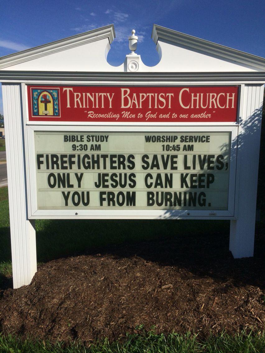 Trinity Baptist Church Christiansburg, Va Marquee/sign