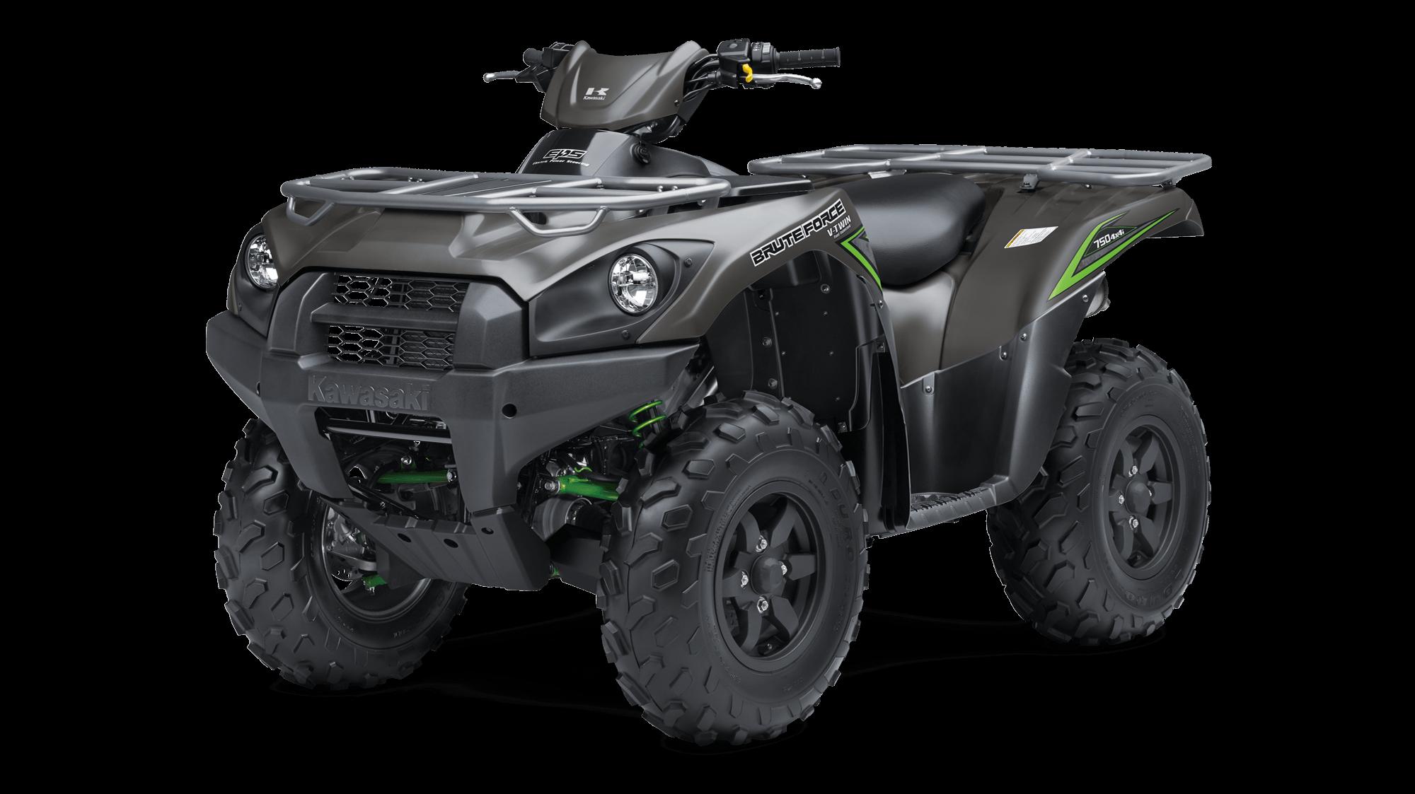 2017 BRUTE FORCE® 750 4x4i EPS Sport Utility ATV by Kawasaki | Get