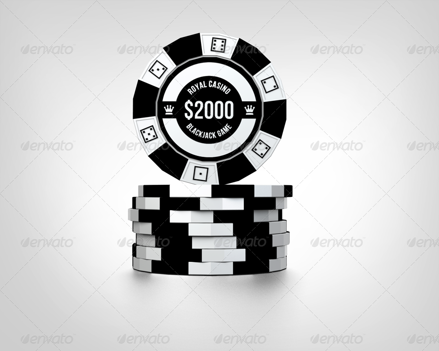 Casino Chips Mock Up Casino Chips Business Card Mock Up Business Cards Diy Templates