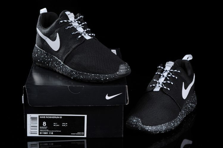 c9126ceea0b60 ... discount womens running shoes popular running shoes men nike id roshe  run 2015 511881 116 black