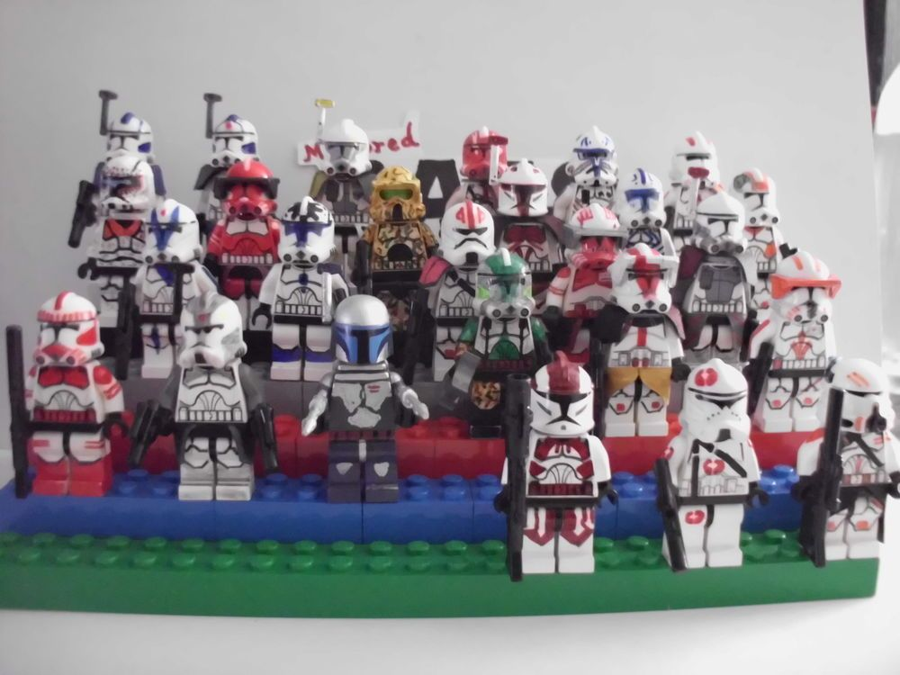 Lego Star Wars minifigures - Clone Custom Clones x 26 ONE TIME OFFER