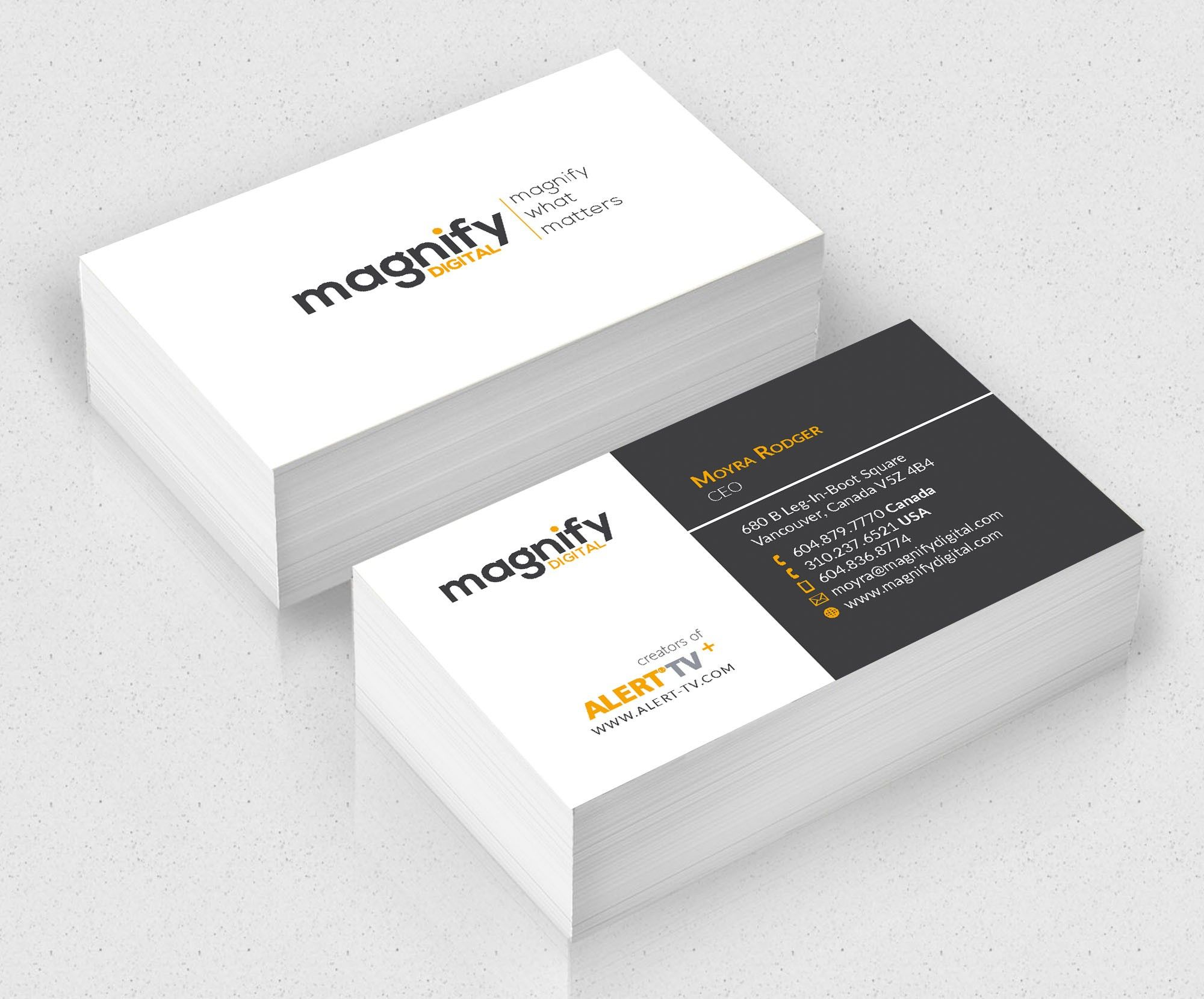 Want a creative and memorable business card to make a great first