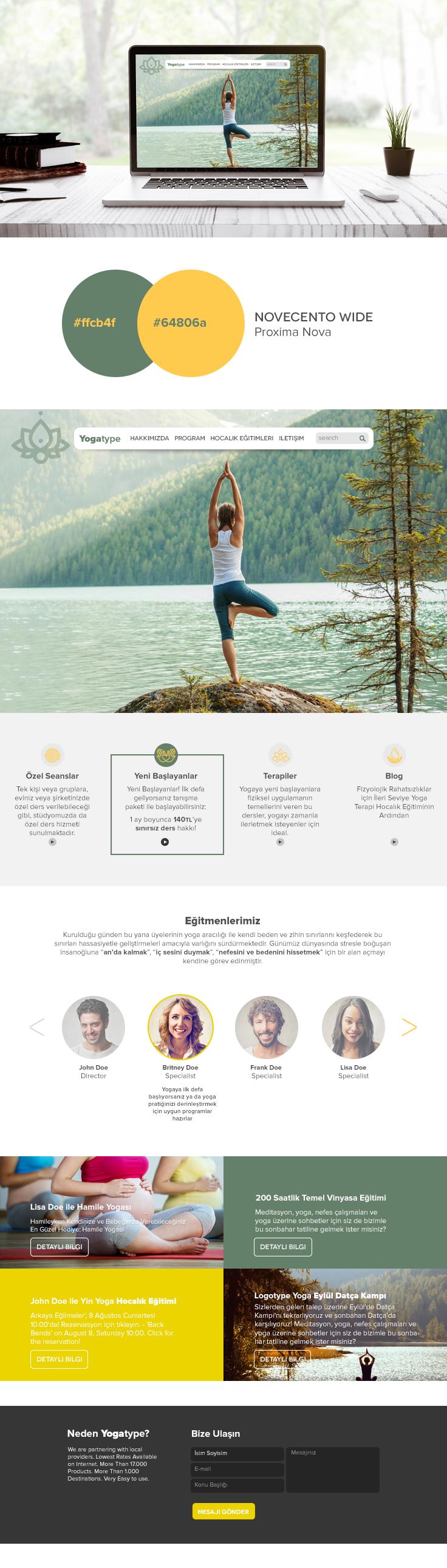 Enchanting Yoga Website Template Crest - Resume Ideas - namanasa.com