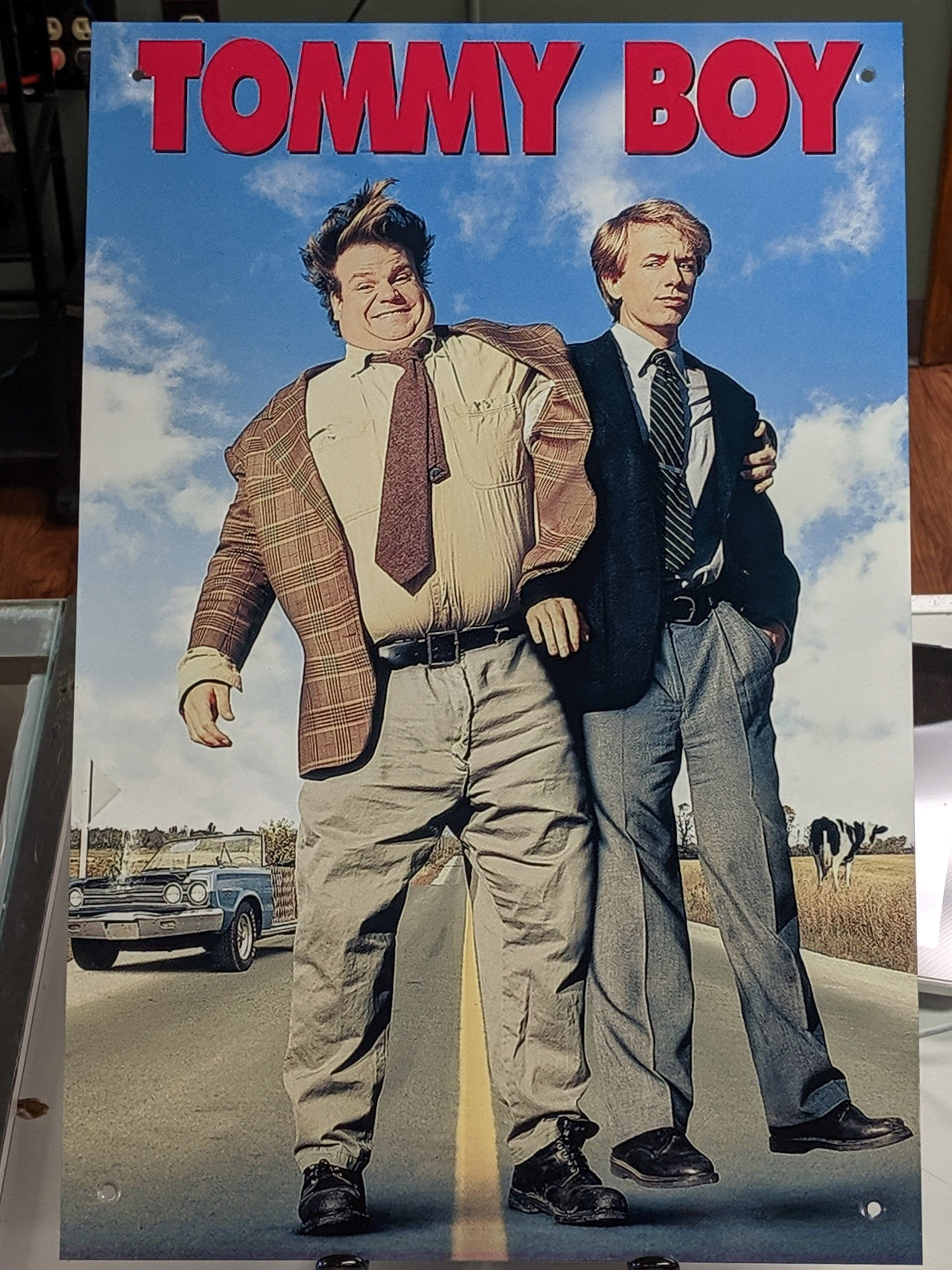 Tommy Boy Aluminum 12x18 Movie Poster in 2020 (With images