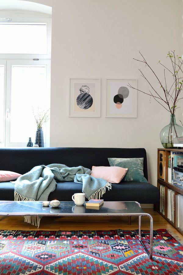 Gemütlich Pastell, Metalle und Kaffee - wohnzimmer gemutlich dekorieren