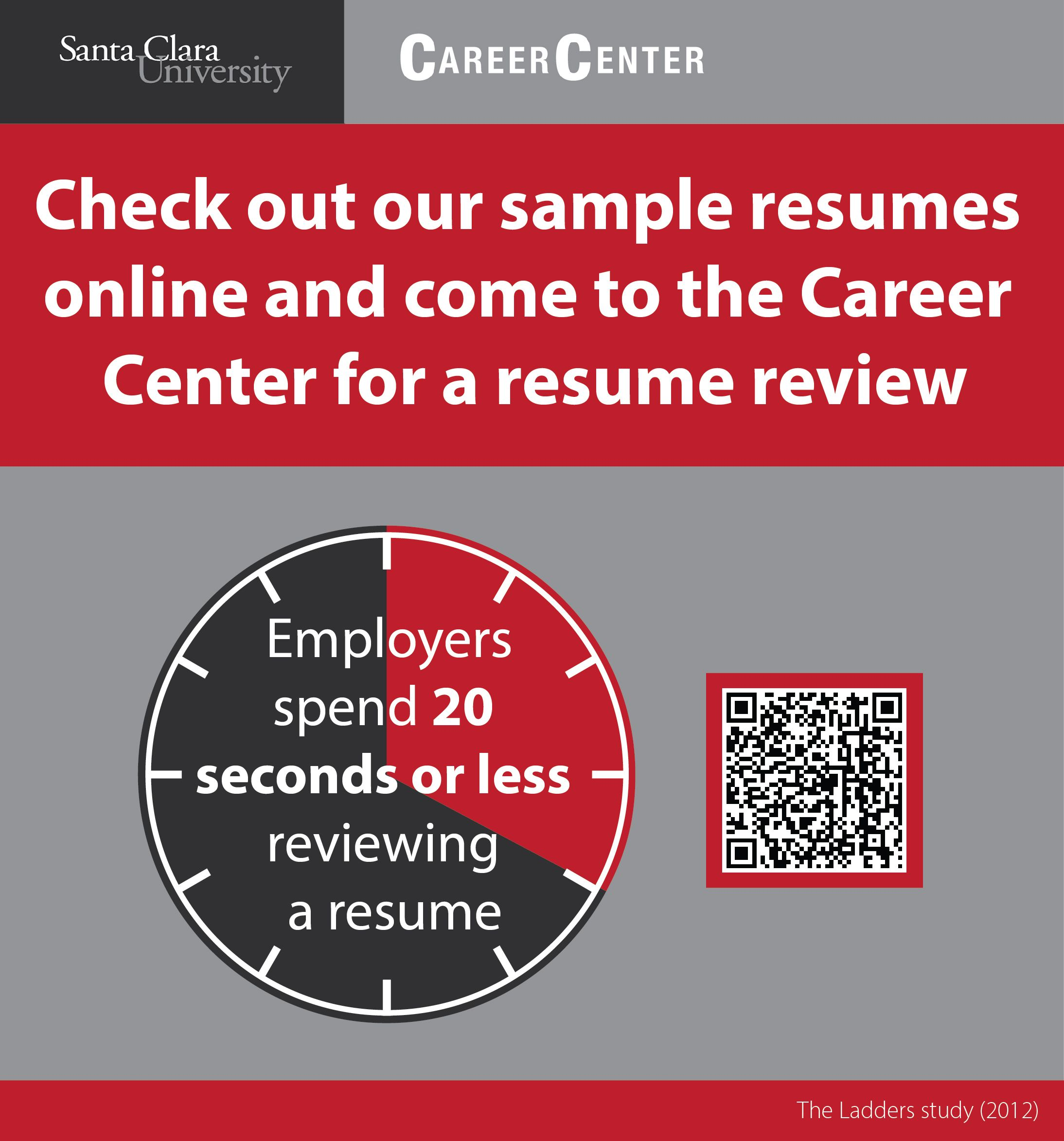 Resume Review Interesting Resume Review  Scu Career Center Infographics 20132014  Pinterest