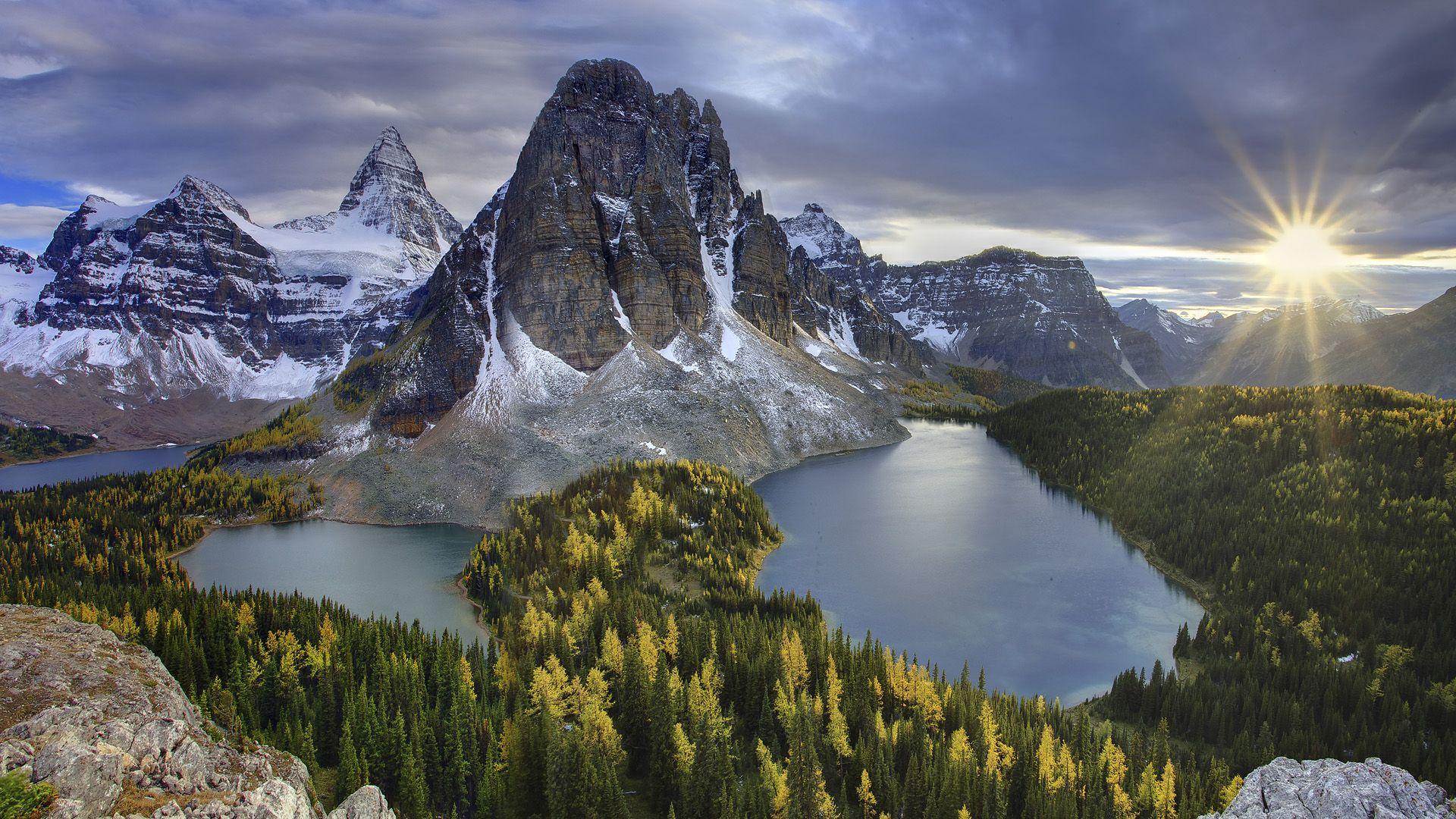 landscape mountain beautiful wallpaper - photo #28