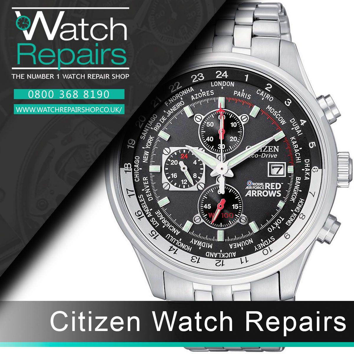 Citizen Watch Repair Repair Citizen