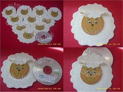 8 Moldes Ovelha Eva Feltro Tecido Adoro Crafts Crafts For Kids