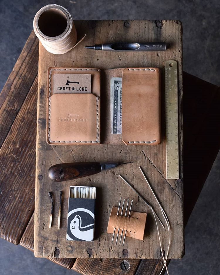 Insider Wallet Diy Leather Projects Diy Leather Gloves Leather