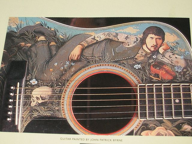 guitar wall decor.htm gerry rafferty guitar  with images  guitar painting  album cover  gerry rafferty guitar  with images