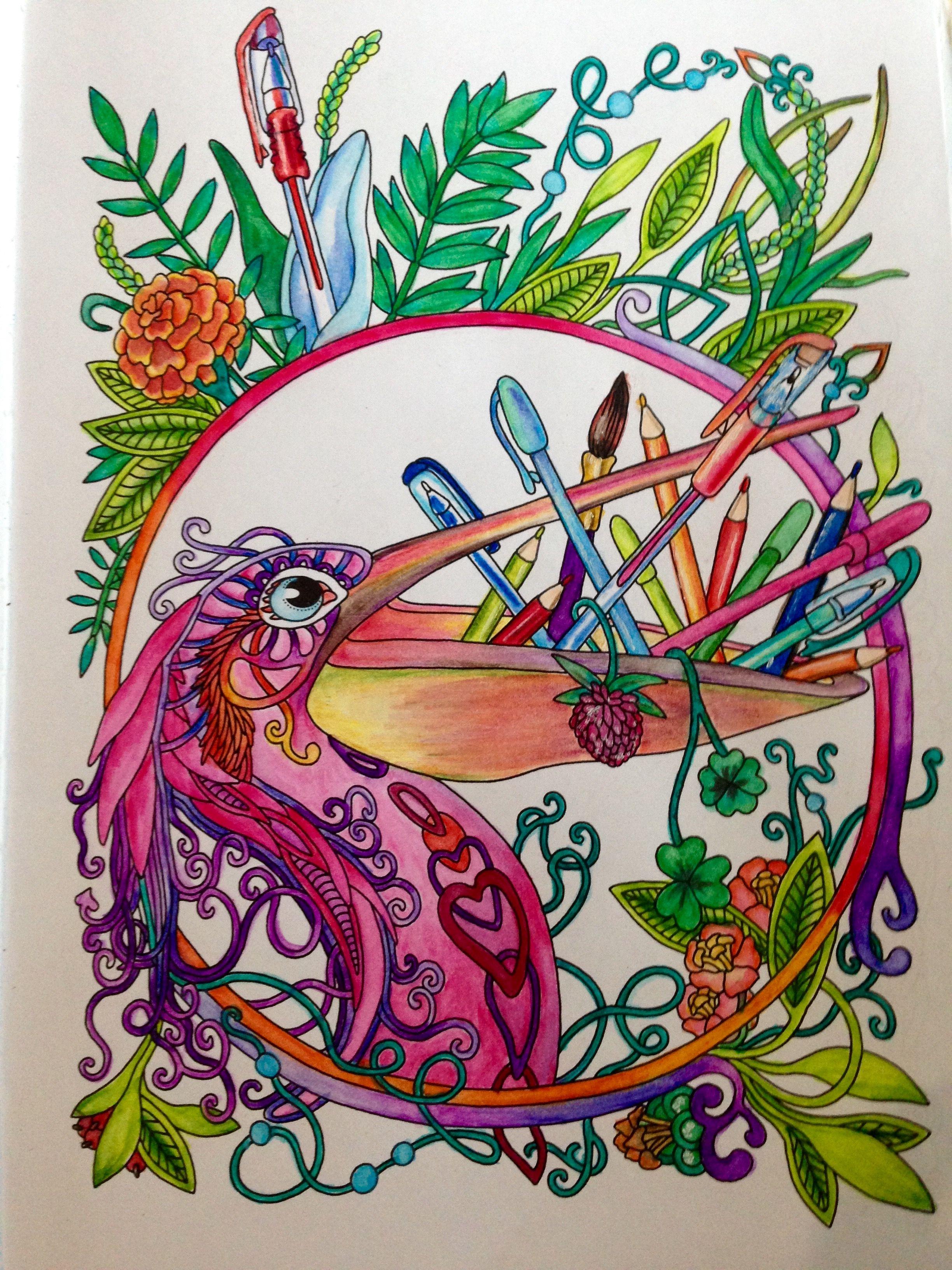 Coloring. Ветер уносит Цветы. Ольга Головешкина. | Art ...