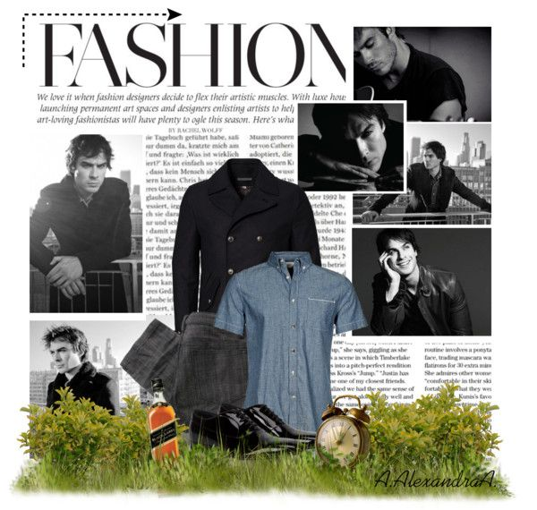 """Ian Somerhalder ;)"" by szansza ❤ liked on Polyvore"