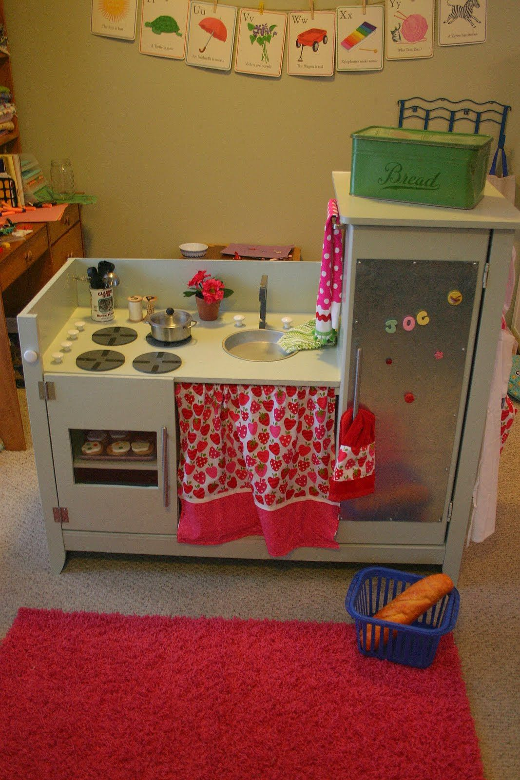 Bonne Nouvelle: Repurposed dream Play Kitchen--ABRIDGED | kk dream ...