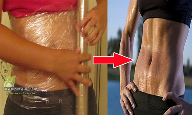 Efectos de ponerse plastico en la barriga para adelgazar