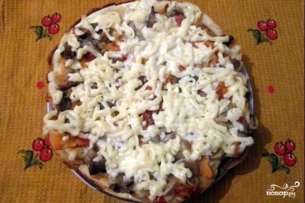Пицца на батоне на сковороде - пошаговый рецепт с фото на ...