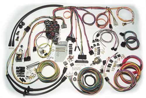 1957 chevy passenger car classic update series complete wiring kit rh pinterest com automobile wiring kits automotive wiring terminal kits